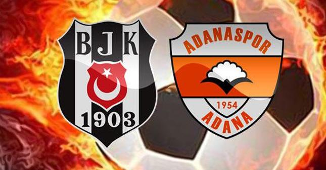 Beşiktaş-Adanaspor maçı ne zaman saat kaçta, hangi kanalda?