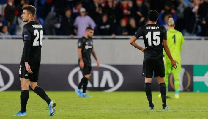 Beşiktaş Avrupa'ya tatsız başladı!