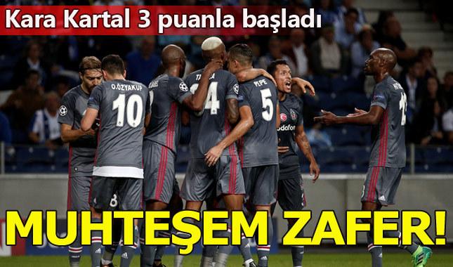 Beşiktaş Porto'yu dize getirdi: 1-3