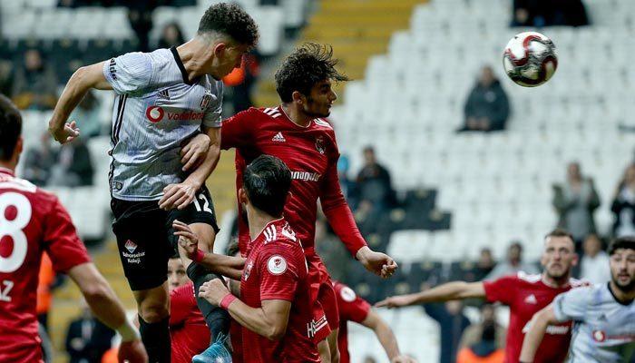 Beşiktaş farklı kazandı! Tur şansı Erzincan'a kaldı