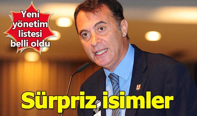 Beşiktaş yeni yönetim listesinde kimler var?
