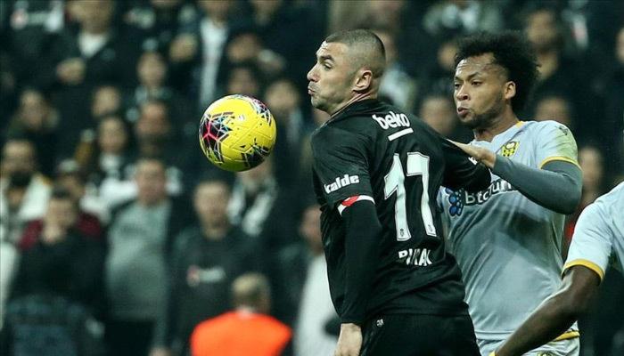 Beşiktaş zirve yarışında çelme yedi!