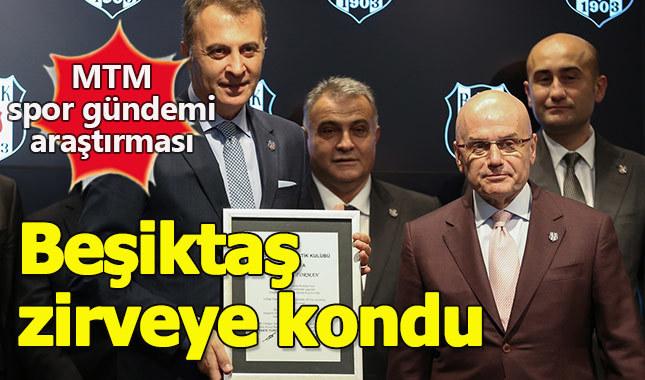 Beşiktaş zirvenin adı oldu