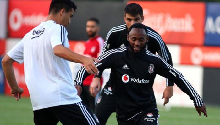 Beşiktaş'ın yeni transferi idmana çıktı!