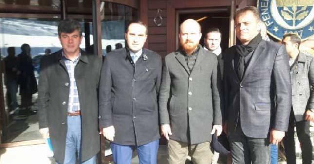 Bilal Erdoğan, Fenerbahçe tesislerini ziyaret etti