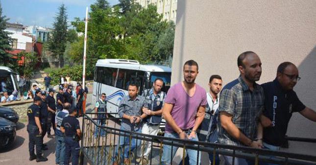 Bilecik'te 24 emniyet görevlisi tutuklandı