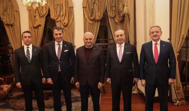 Binali Yıldırım, İstanbul kulüplerinin başkanlarıyla buluştu