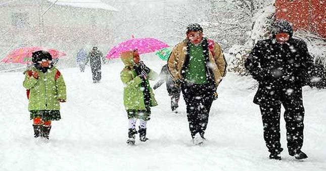 Bingöl'de okullar yarın tatil mi? Bingöl hava durumu