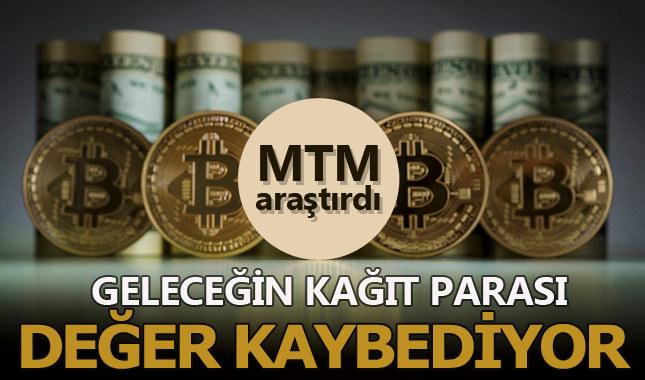 Bitcoin'de şaşırtan değer kaybı