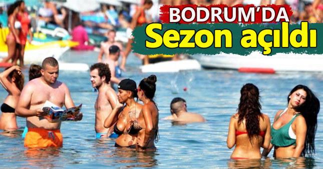 Bodrum'da deniz sezonu açıldı