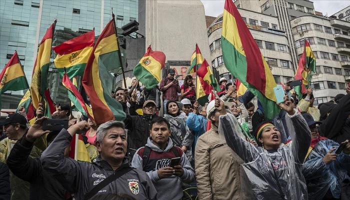 Bolivya'da kan akmaya devam ediyor! 18 ölü