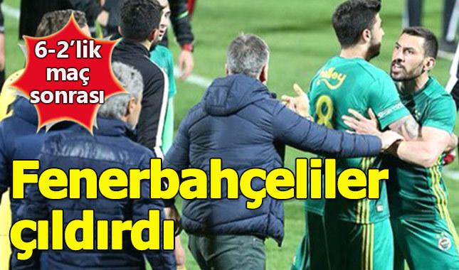 Boluspor antrenörü Fenerbahçeli futbolcuları çıldırttı