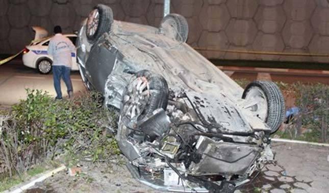 Bursa'da feci kaza: 1 ölü, 2 yaralı