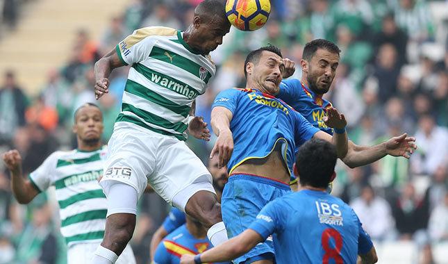 Bursaspor, Göztepe'ye diş geçiremedi (Bursaspor 0-0 Göztepe)
