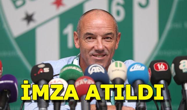 Bursaspor, Paul Le Guen ile 2 yıllık sözleşm imzaladı