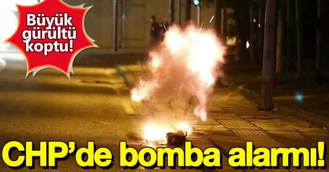 CHP Genel Merkezi'nde bomba alarmı!