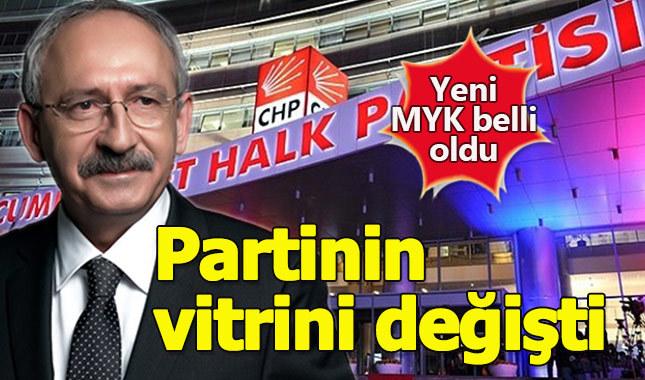 CHP'de yeni Merkez Yönetim Kurulu (MYK)'da kimler yer alıyor?