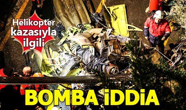 CHP'li vekilden helikopter kazasıyla ilgili flaş iddia