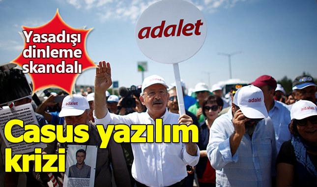 CHP'liler Adalet Yürüyüşü'nde dinlendi iddiası