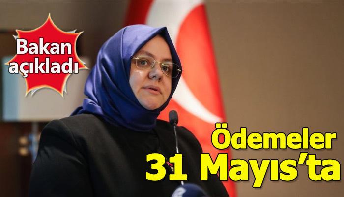 Çalışma Bakanı Selçuk: İşsizlik ile kısa çalışma ödeneği ödemeleri 31 Mayıs'ta yapılacak