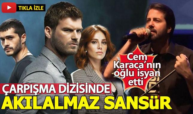Çarpışma dizisinde Cem Karaca'nın şarkısı sansürlendi