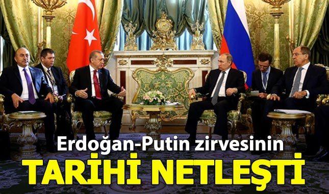 Çavuşoğlu açıkladı: Erdoğan ile Putin görüşecek