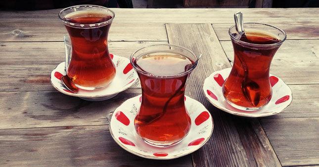 Çayın en çok tüketildiği ülkeler açıklandı