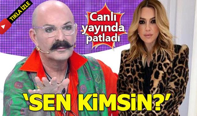 Cemil İpekçi canlı yayında Hadise'yi topa tuttu