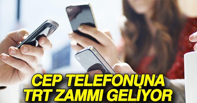 Cep telefonu kullanıcılarına TRT'den kötü haber