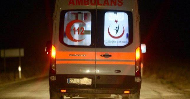 Cerablus'ta yaralanan askerler Gaziantep'e sevk edildi