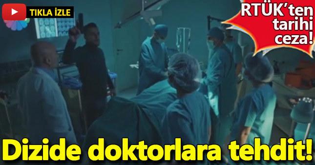 Cesur Yürek dizisindeki doktor sahnesine rekor ceza