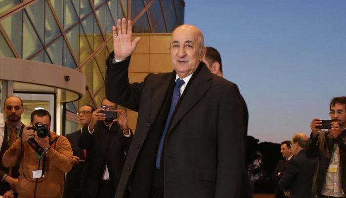 Cezayir'in yeni Cumhurbaşkanı'ndan açıklama