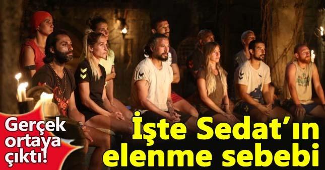 Çılgın Sedat'ın Survivor'dan elenme nedeni ortaya çıktı
