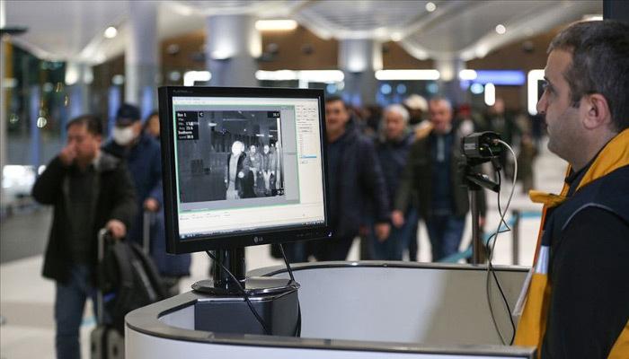 Çin'den gelenler termal kameralarla taranıyor