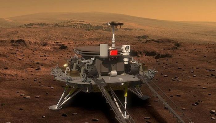 Çin'in Mars'a iniş testi başarılı