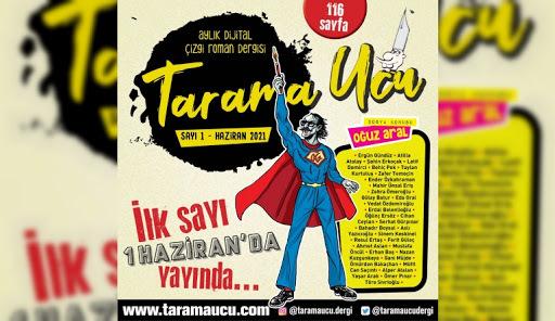 Çizgilerle İstanbul hikayeleri Tarama Ucu Temmuz sayısında