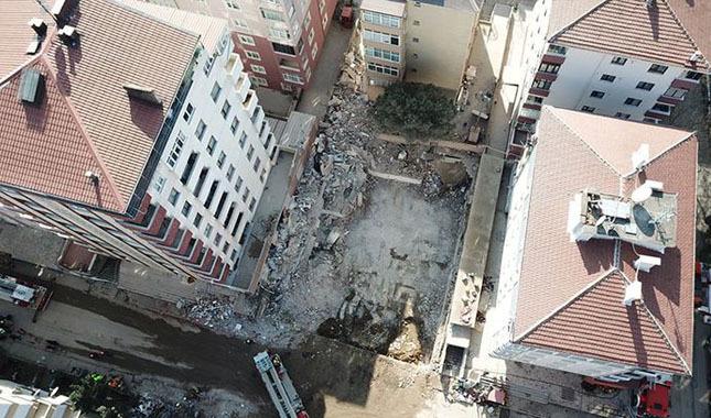 Çöken binanın çevresindeki 8 binaya yıkım kararı