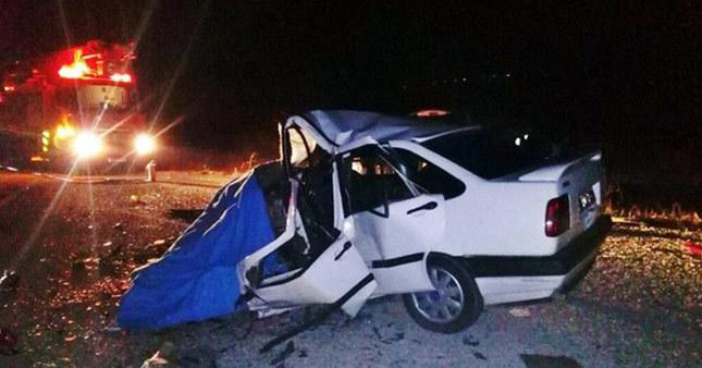 Çorum'da feci kaza: 3 ölü