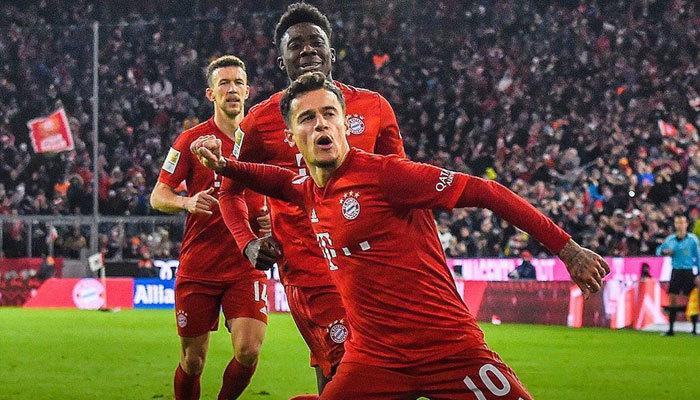 Coutinho şov! Bayern Münih gol oldu yağdı