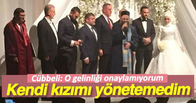 Cübbeli Ahmet Hoca'dan ilginç düğün yorumu
