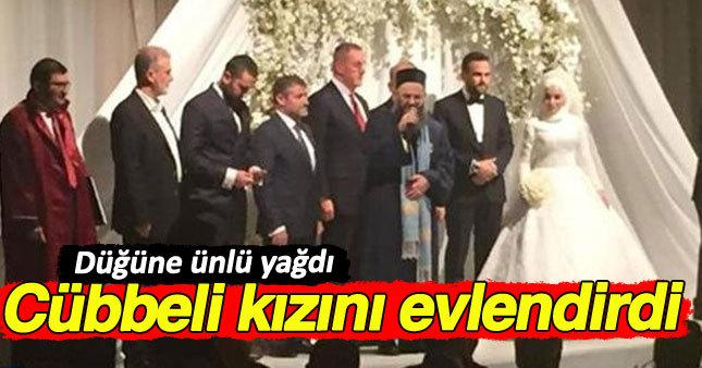 Cübbeli Ahmet Hoca'nın kızı iş adamıyla evlendi