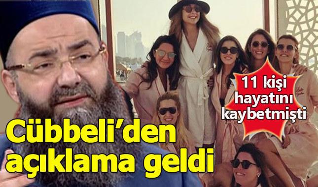 Cübbeli Ahmet'ten uçak kazası için açıklama