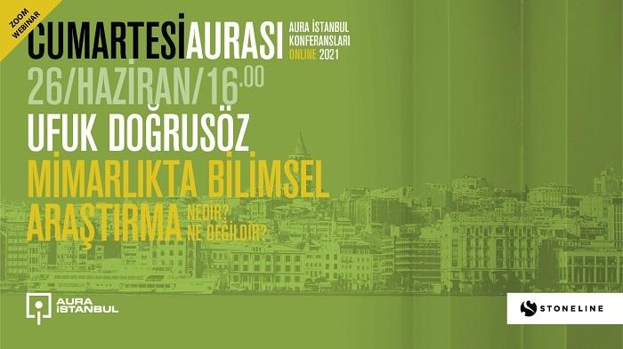 Cumartesi Aurası'nın 26 Haziran'daki konuğu Prof. Dr. Ufuk Doğrusöz