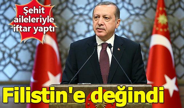 Cumhurbaşkanı Erdoğan: Filistin'de büyük bir insanlık suçuyla karşı karşıyayız