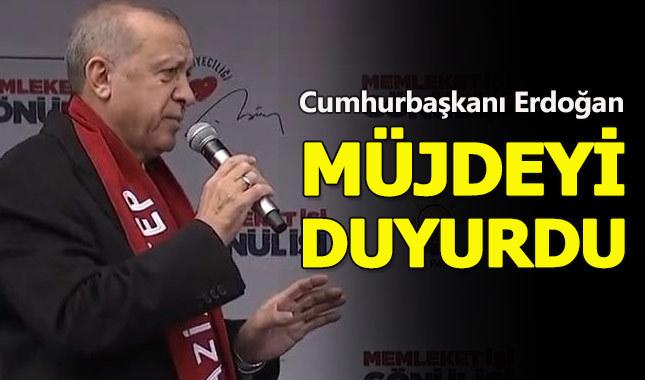 Cumhurbaşkanı Erdoğan, Gaziantep'te önemli mesajlar verdi