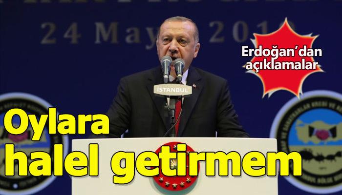 Cumhurbaşkanı Erdoğan, İstanbul'da esnafla iftar programında konuştu
