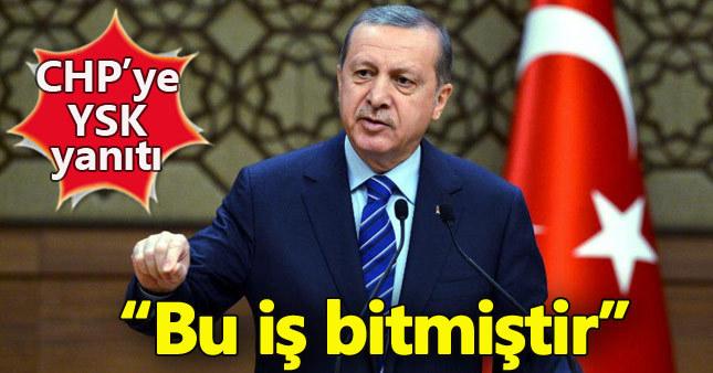Cumhurbaşkanı Erdoğan YSK'nın ret kararını yorumladı