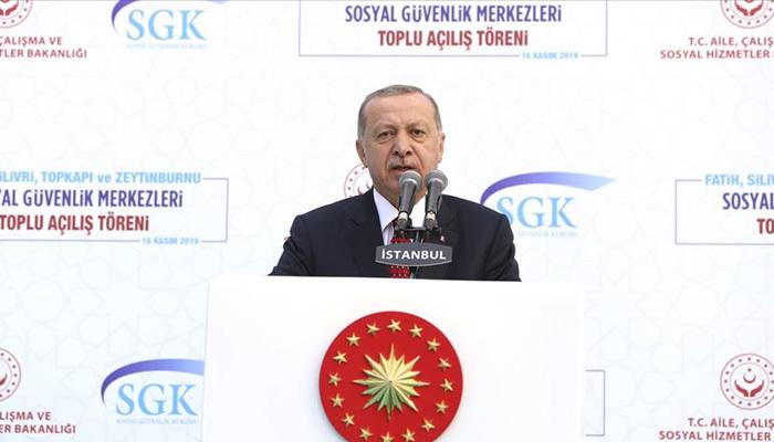 Erdoğan'dan EYT mesajı: Vaktinde emekli olmalı