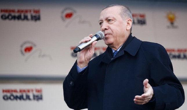 Cumhurbaşkanı Erdoğan'dan Kanal Ankara mesajı!