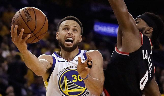Curry'li Warriors iyi başladı